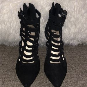 Guess strapping heels